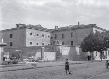 Prisión provincial de Álaba. 1935 (Foto: Ceferino yanguas)